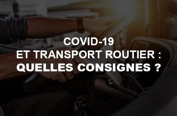 Covid-19 : le point sur les transports