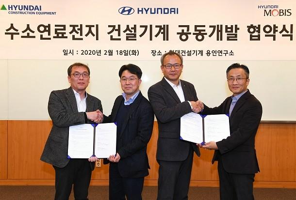 Hyundai CE passe à l'hydrogène