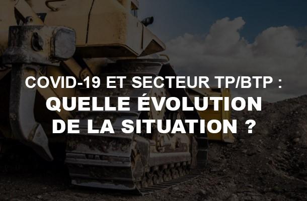 Covid-19 et TP/BTP: quelle est la situation en France?