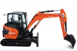 Kubota lancia tre nuovi mini escavatori da 5 tonnellate