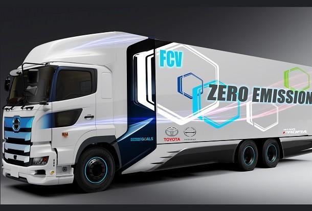 Bientôt un poids lourd à pile à combustible à hydrogène, signé Toyota et Hino!