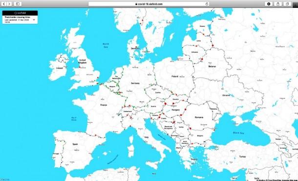 L'Europa alle prese con il Coronavirus