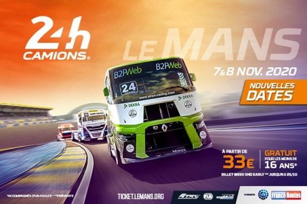 Les 24h Camions du Mans auront lieu début novembre!