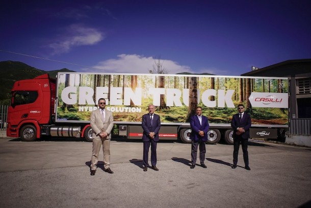 Non si arresta la corsa alla sostenibilità della Casilli Enterprise: di dodici nuovi Scania in flotta, due sono Green Truck