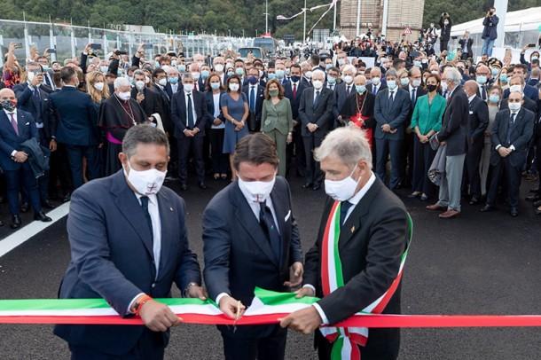 Inaugurato il Ponte Genova San Giorgio. Da domani aperto al traffico