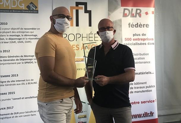 Manitowoc reçoit 2 trophées aux JDL