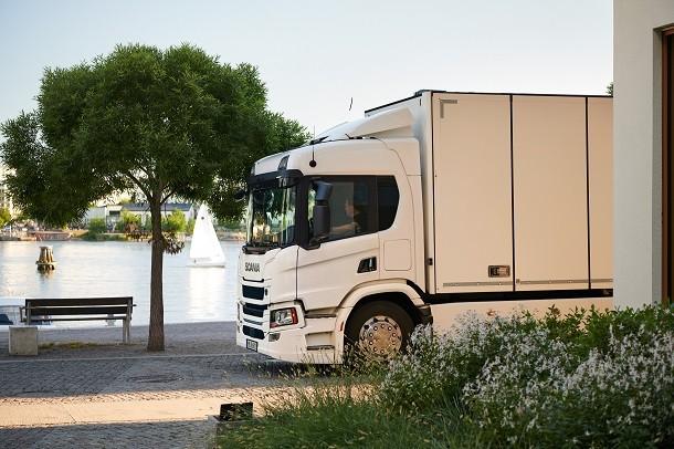 Des camions électriques signés Scania !