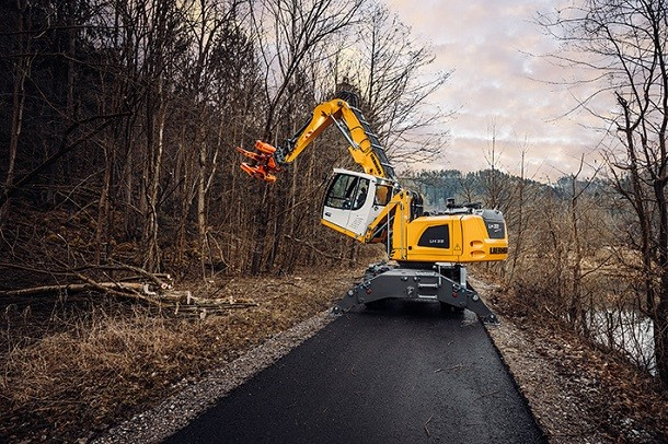 Liebherr propose de nouvelles solutions pour l'industrie du bois