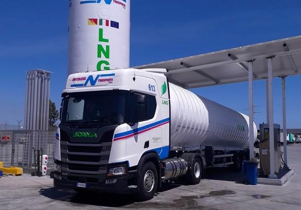 Nicolosi Trasporti porta l'LNG in Sicilia