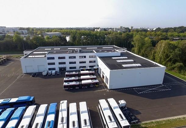 De nouveaux locaux pour Scania France