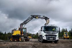 Volvo teste ses camions 100% électriques pour le secteur de la construction