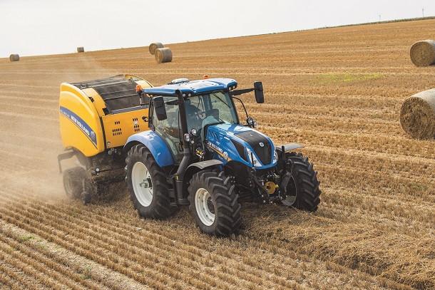 New Holland présente son nouveau tracteur T6