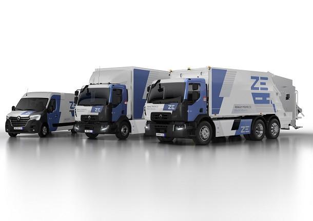 Renault Trucks en route vers l'électrique