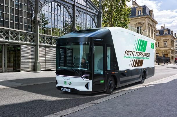 Volta Trucks et Petit Forestier s'associent pour un Volta Zero frigorifique