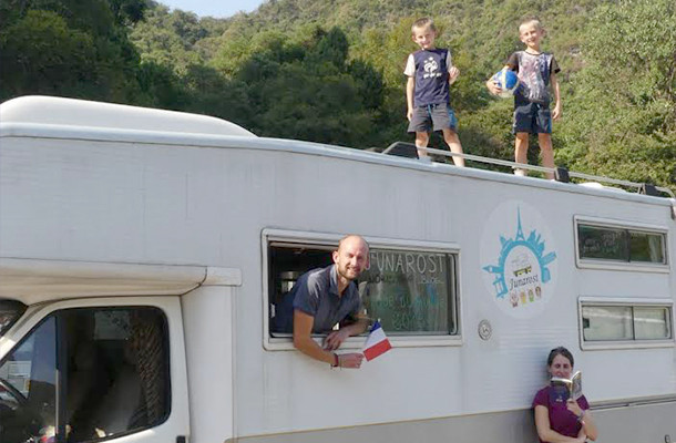 Interview vanlife : la famille Junarost