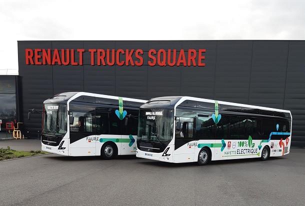 Des navettes 100% électriques pour Renault Trucks