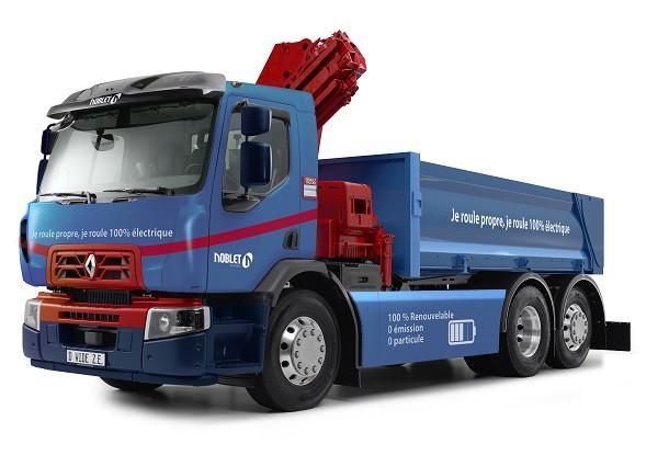 Renault Trucks: un premier camion 100% électrique approche chantier