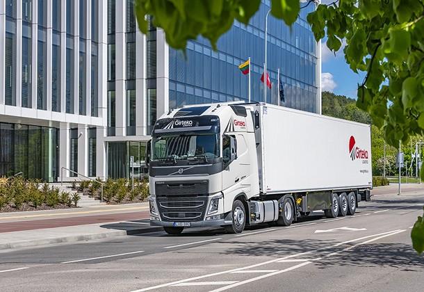 2000 camions Volvo pour Girteka