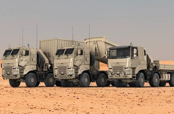 DAF fournit les Forces Armées Belges