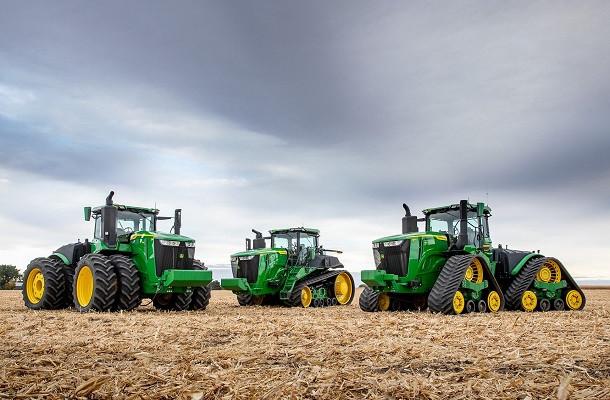 John Deerelance ses nouveaux tracteurs série 9R
