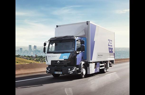 Renault Trucks: une offre 100% électrique pour 2023