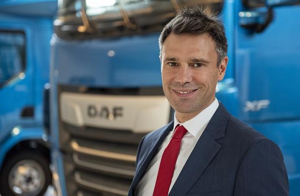 Renaud Dehillotte, nouveau directeur de DAF Trucks France