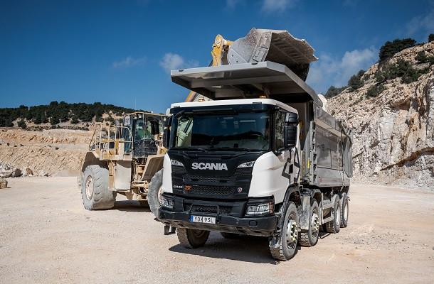 G 540: le nouveau camion de chantier signé Scania