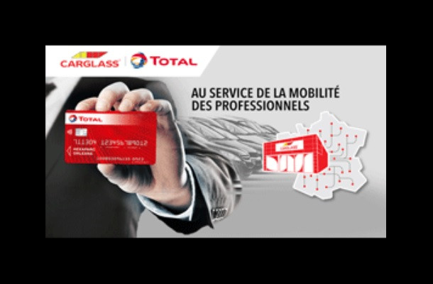 Total et Carglass s'associent pour proposer un nouveau service