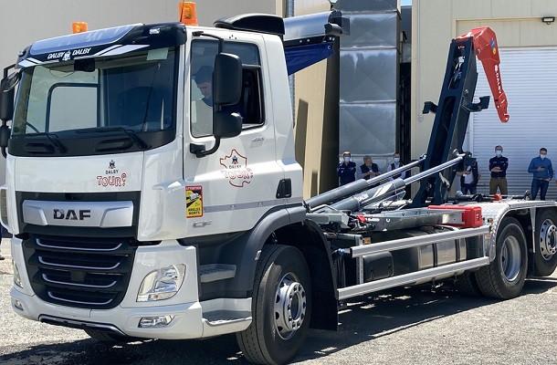 DAF Trucks France au Dalby Tour