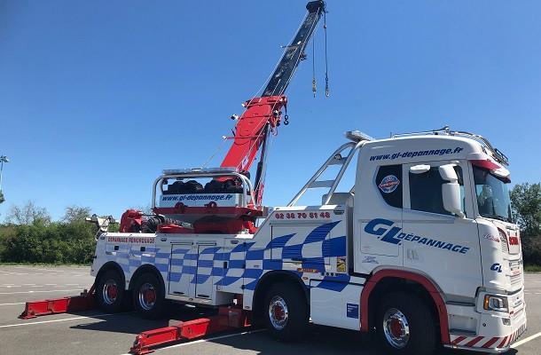 Un Scania personnalisé pour GL Dépannage