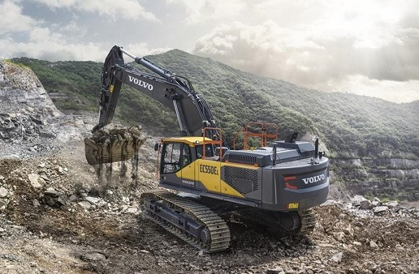 EC530E et EC550E: les deux nouvelles pelles Volvo de 50 tonnes