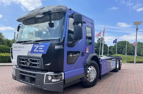 Camions électriques: nouveau D WIDE Renault Trucks à cabine surbaissée