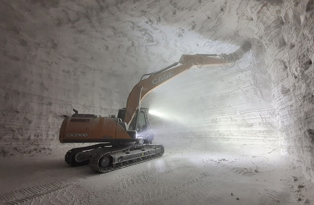 Case se lance à l'assaut d'une mine de sel