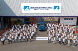 Lo stabilimento Iveco di Brescia taglia il traguardo dei 600mila Eurocargo prodotti