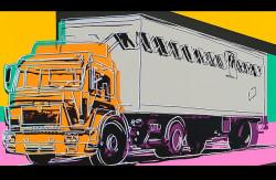 Il camion come icona pop: la serigrafia di Andy Wharol di un MAN all'asta da Christie's a Londra