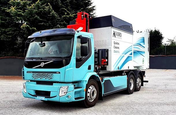 Nord Engineering apre la flotta a un Volvo FE Electric da impiegare nella raccolta rifiuti