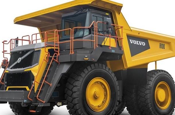 Volvo lance le tombereau R100 Stage V