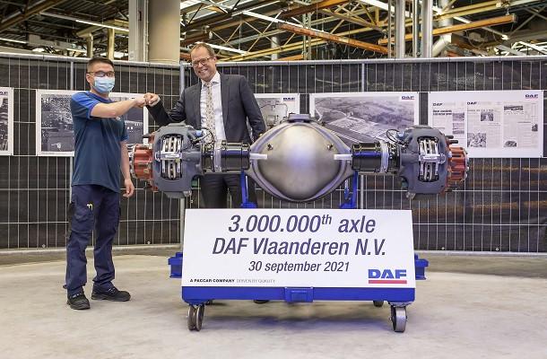 DAF Trucks Flandres fête ses 50 ans