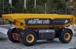 Volvo présente le premier engin du monde en acier renouvelable!