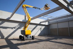 New range of articulated boom lift Haulotte HA16 RTJ