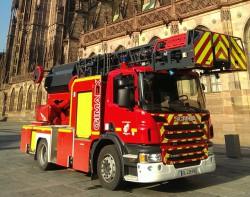 Scania va livrer 7 camions de pompiers en Alsace