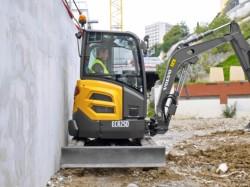 Novas escavadoras compactas para Volvo CE