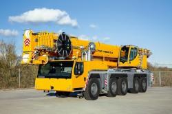 Nouvelle grue mobile Liebherr LTM 1160-5.2 exposée à Intermat