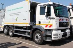 MAN Trucks & Bus offers an hydraulic hybrid solution for its MAN TGM