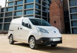 Nowy furgon w 100% elektryczny Nissan e-NV200