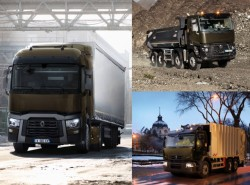 Photos et vidéos de la nouvelle gamme Renault Trucks : T pour transport, D pour Distribution et C pour Construction !