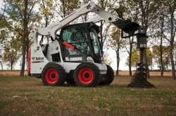 Uma nova série 500 de pás carregadoras Bobcat