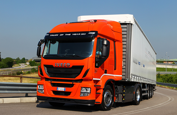 Тягачи Iveco Stralis GNV доступны в версии Hi-Street и Hi-Road.