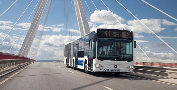 Le nouveau bus Mercedes Citaro NGT.