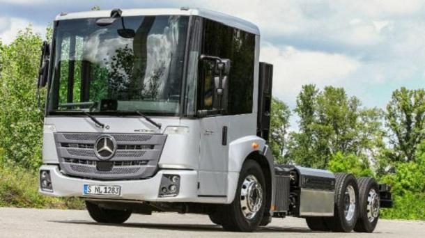 Le nouveau Mercedes Econic GNV.
